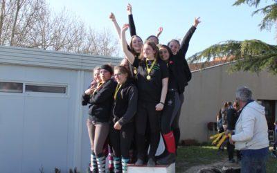 Les terminales sont championnes académiques d'Équitation !