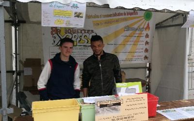l'association «BRIQUETTEXPRESS» a participé aux Virades de l'espoir pour soutenir la lutte contre la mucoviscidose.