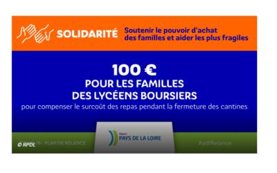 AIDE EXCEPTIONNELLE DE LA REGION AUX ELEVES BOURSIERS