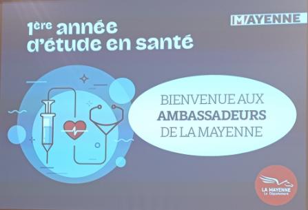 Une aide départementale de 2000 euros pour la 1ère année dans les études de Santé